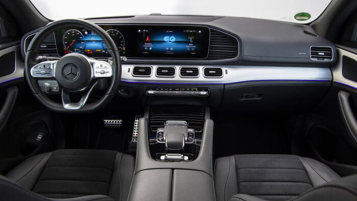 Mercedes-Benz GLE 350 e 4MATIC Carro Híbrido Plug-in Vista Interior