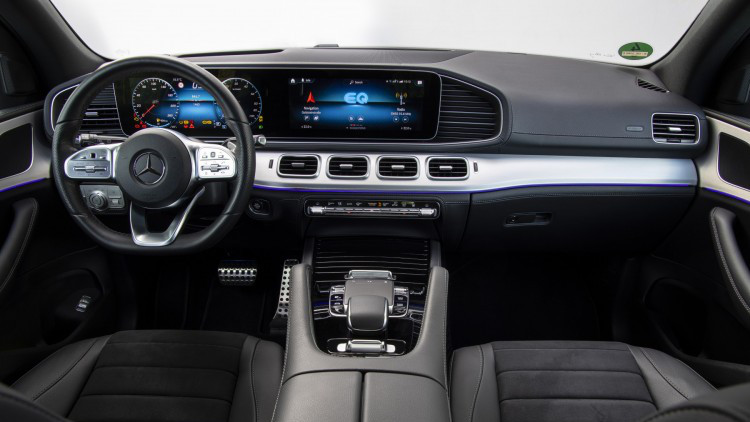 Mercedes-Benz GLE 350 de 4MATIC Carro Híbrido Plug-in Vista Interior