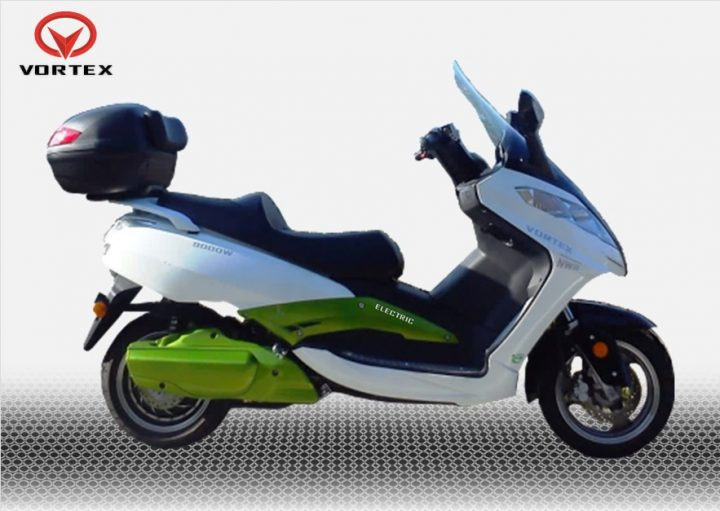 Vortex NWR 9000 Watts Scooter Elétrica Branca Vista Lateral